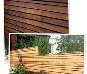 Deck feature wall ideas
