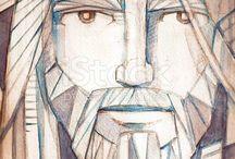 Christ face