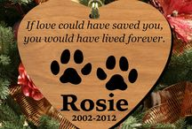 Too Loved to Forget / Different ways to honor a lost pet.