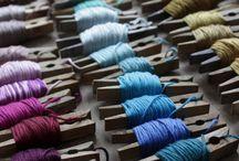 Thread colour chart