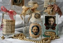 Recycled perfume bottles