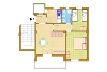 Trilocale n.2 / appartamento al secondo piano di via Quarto n.37, composto da ampio soggiorno, due camere da letto, bagno e cucina. Balcone anteriore con vista mare e posteriore di servizio. www.sanfocaviaggi.it
