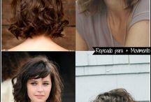cortes de cabelo curtos.