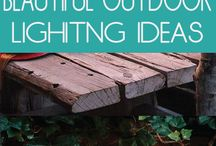 OUT DOOR LIGHTING IDEAS