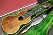 Guitars and Ukuleles / by David Shelley