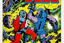 Comic color / Collection of color & compositions from comics, comic strips, graphic novels etc.