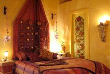 I want a Middle Eastern-style bedroom. / by Hallie Davidson
