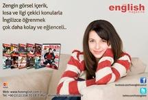 Hot English Magazine Turkey / Güncel, Canlı, Eğlenceli Aylık İngilizce Dergi
