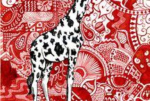 malowane zwierzeta