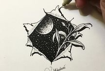 Artists: Doodling / Zentangle, Doodling, Sketching