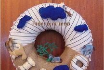 wreaths / wreaths for decoration