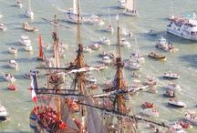 Hermione at Sea / Sea Trials