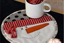 MugRugs/Placemats/Table Runners / Quilting  / by sandy metevier