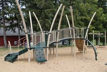 Completed Projects by Kinetic Recreation / Some of our completed Playground and Safety Surfacing projects!