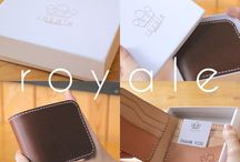 Leather Goods / Your daily leather goods.
