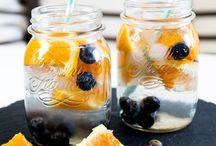 #mcfood: Blueberry Orange Water – Infused Water