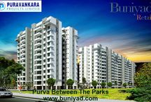 Purva Between The Parks / Purva Between The Parks is a pre-launch project in Bangalore by Purva Group. The project offers you ultra luxurious 3/4 & 5 bhk apartments and penthouse.