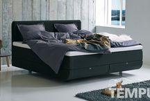 North slaapsysteem van TEMPUR / Het ontwerp van het North slaapsysteem is geïnspireerd op de landschappen en de ongerepte natuur van het noorden. Door dit ontwerp heeft u niet alleen het gevoel dat u zweeft, maar ook het bed zelf lijkt te zweven...