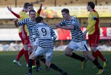 Albion Rovers v Queen's Park / Pictures from the SPFL League Two game between Albion Rovers and Queen's Park.  Match played at Cliftonhill on Saturday 31st January 2015.