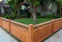 Eye Deal Home Fencing / My virtual smorgasbord of home fencing ideas.