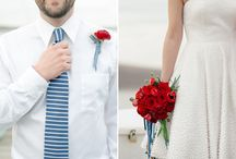 Nautical Wedding Flowers / by BloomsByTheBox.com