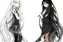 Dívky anime