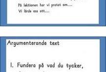 svenska skrivning