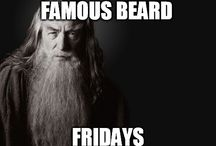 Famous Beard Fridays / Featuring the most famous beards pictures every Friday!