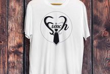 T shirts animals and celebrities by la french / Collection by la french clothing a french brand inspirates by animals and celebrities !
