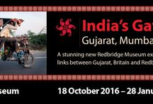 India's Gateway: Gujarat, Mumbai & Britain / India's Gateway: Gujarat, Mumbai & Britain Redbridge Museum  18 October 2016 - 28 January 2017  India's Gateway is a stunning new exhibition that weaves together photographs, words and film to explore the fascinating history of Gujarat, Britain and Redbridge - a story that stretches back hundreds of years. This touring exhibition is based around new photography and film by renowned photographer Tim Smith and material from Redbridge Museum's collections. #Photography #Gujarat #Redbridge