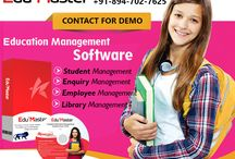 Student management software / Do you know, with increasing demands, it is very tough for an educational body to manage records of an employees, students and management of examination? Kriscent has recently launched its Edu' Master software is a complete solution for maintaining any educational body. Edu' Master is a single package of various modules such as it performs all functions like library management, enquiry, employee, student record management, finance & Examination management.