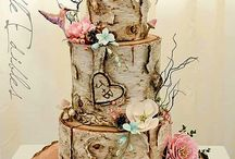 Wedding Cake & Toppers