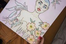 MY ART - The girls