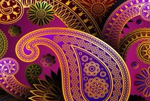 Inspiration: paisley shapes / The paisley motif is one of my favourite design units.