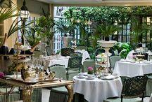 Garden tea room