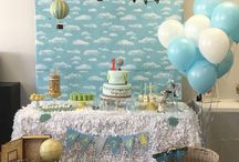 Baby Shower: Hot air Balloon