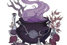 witch staff