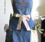 Aprons / fabric and sewing