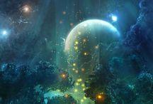 Paintings - Fantasy / Futuristic / Mystery / Animation / Science Fiction / Mythology