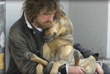 Pets of the homeless / Donate to pets of the homeless. A wonderful charity that gives to the impoverished and homeless to help feed and care for their pets.