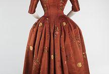 XVIII° - Robes à l'Anglaise