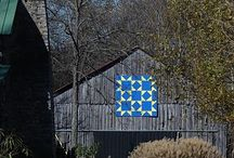 Old barn quilts
