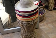 Hat Displays / We are inspired by these hat displays - plus more from our own retailers.