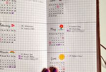 Bullet Journal Inspiration / Amazing pages from other bullet journallers to inspire me!