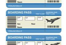 Thema Vliegtuigen