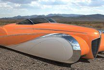 Hot rods and custom cars / Hotrods, custom cars and unusual cars