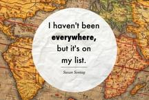 My travels