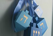 Hannukah / Decorations, treats and assorted images relating the holiday