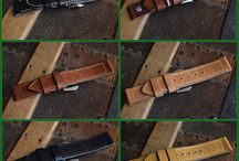 Greenstraps / Handmade leatherwork