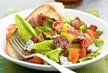 Fun, Fresh Salad Ideas / From classic 7-layer salads to pasta salads to homemade salad dressings, these salad recipes are perfect for light meals, side dishes, or to bring to a potluck! / by Recipe.com